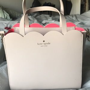 Kate Spade Lily Ave Bennett pink purse with strap